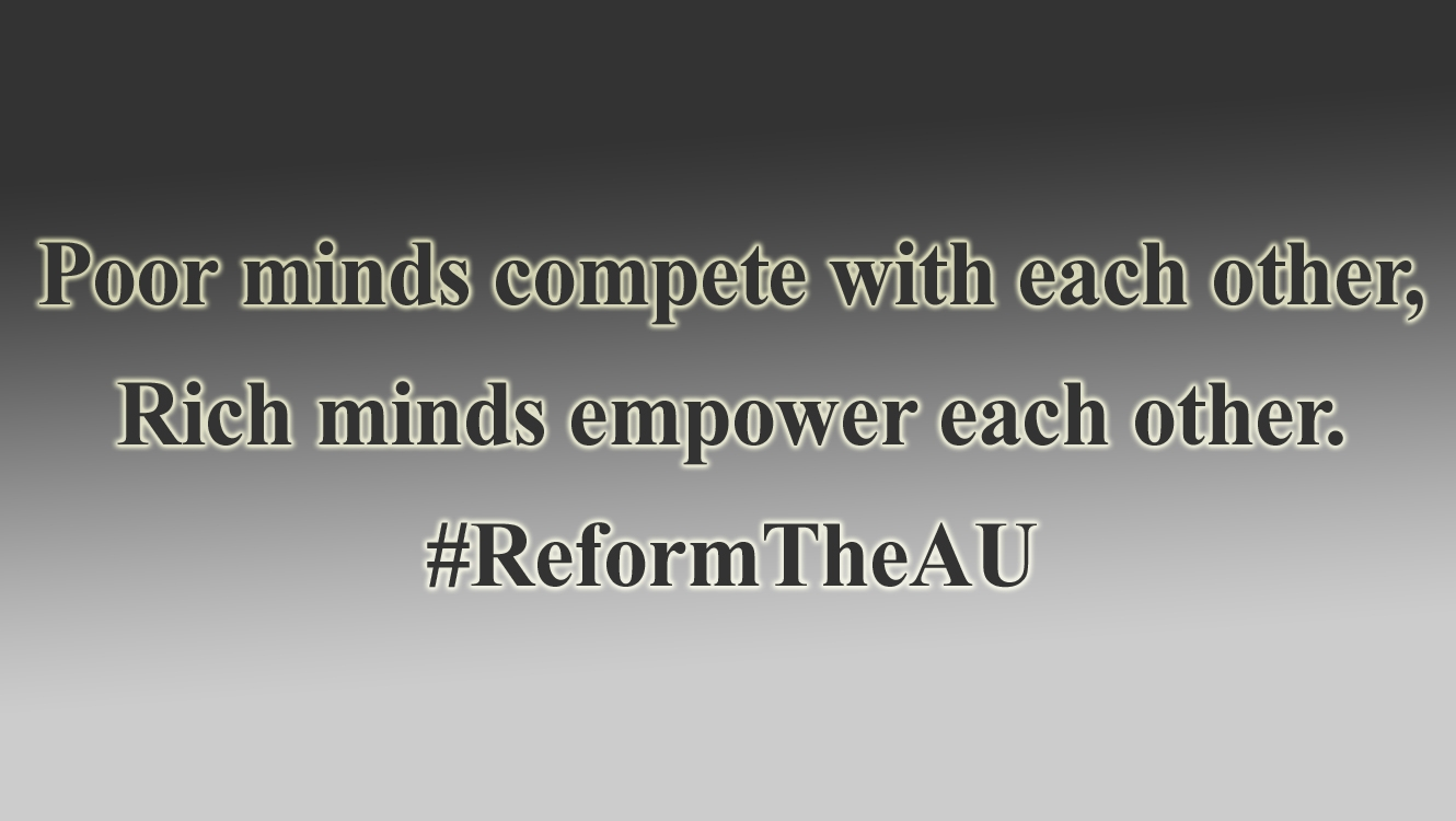 Proposals for a reformed African Union